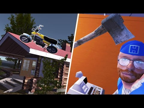 My Summer Car Gameplay | NEW MOPED UPDATE & AXE MURDERING! | Lets Play My Summer Car Game Part 12