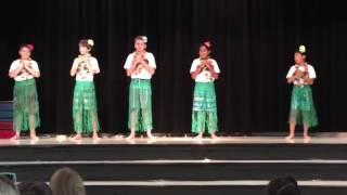 Fifth grade talent show Farmington Woods elementary school