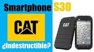 SMARTPHONE CAT S30 ¿es indestructible? Review
