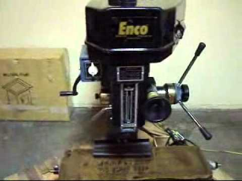 enco mill drill machine