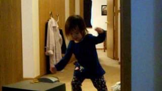 im bossy toddler gets down to kelis