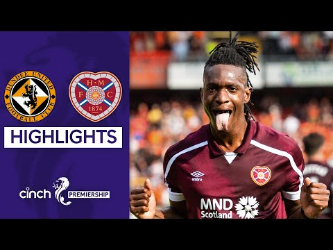 Dundee Utd Hearts Goals And Highlights