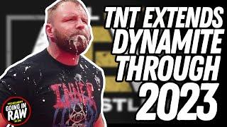 TNT EXTENDS AEW DYNAMITE THROUGH 2023 | WWE New Saudi Arabia Show Conf