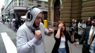 Nina Pušlar - Svet je tvoj! VIDEO making of STREET SCENE