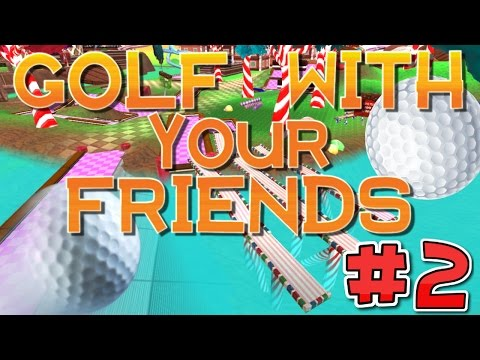 CandyLand - Twilight Jumps! - (Golf With Your Friends) #2