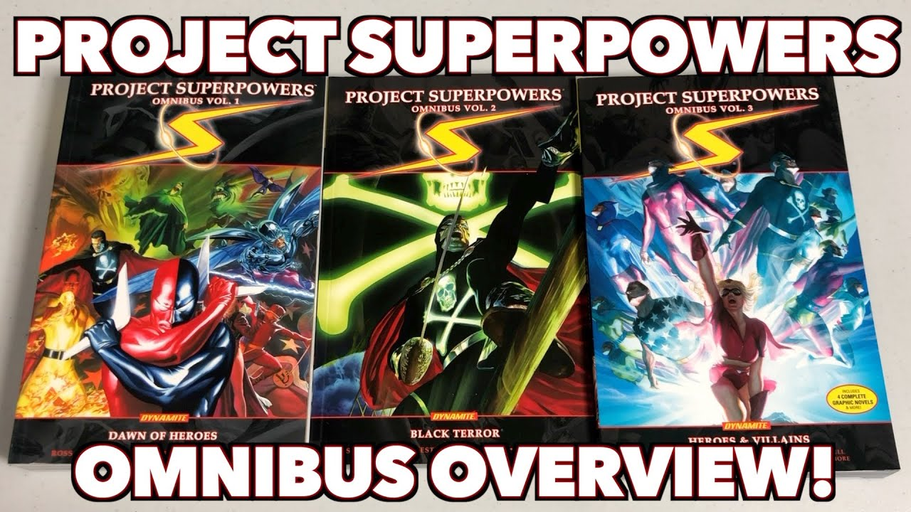 Project Superpowers Omnibus Vol 1 - 3 Overview!