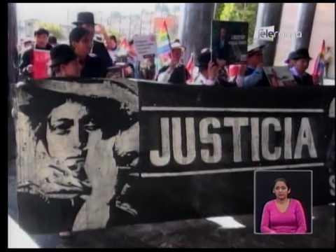 Conaie presentó pedido de amnistía e indulto para procesados