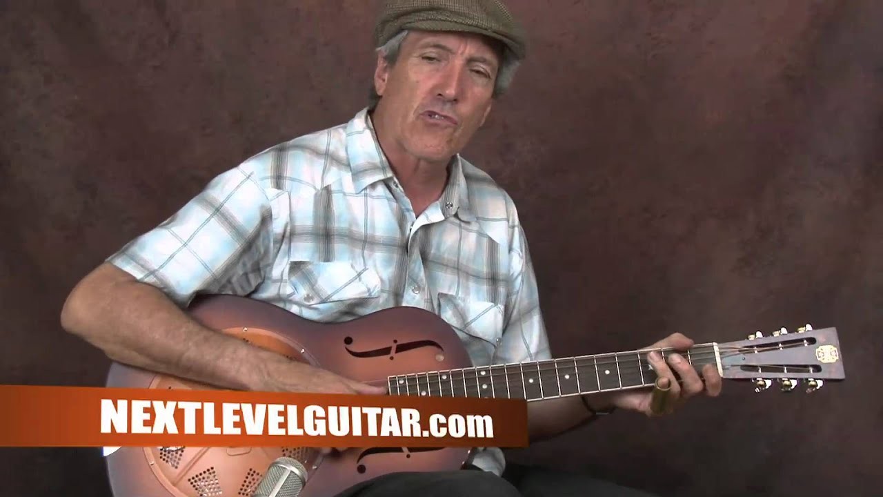 Learn Delta Blues Slide Electric Guitar Keb Mo Inspired Lesson Am