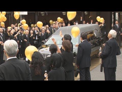 輪島さんに最後の別れ 告別式に八角理事長ら
