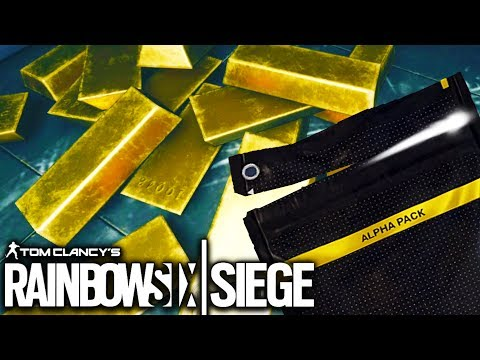 MAKING MONEY FOR ALPHA PACKS - Tom Clancy's Rainbow Six (4K Stream)