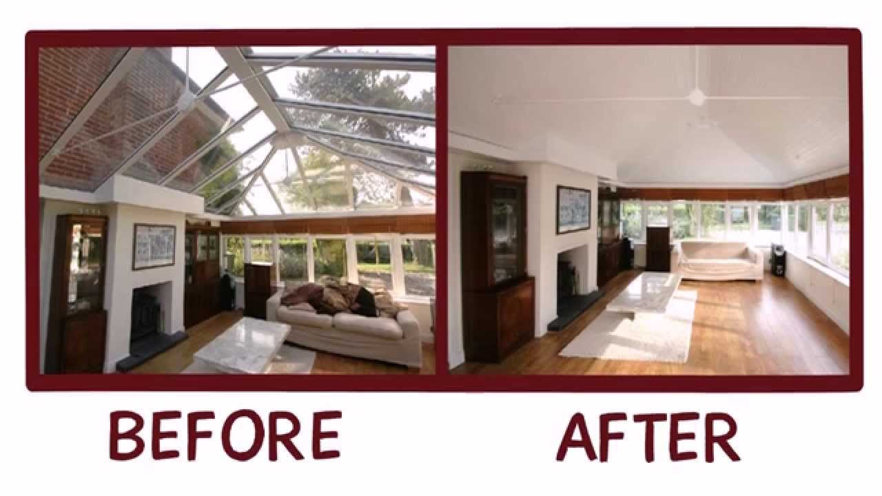 Conservatory ceilings and replacement conservatory roofs by sun room youtube Factors to consider before building a conservatory