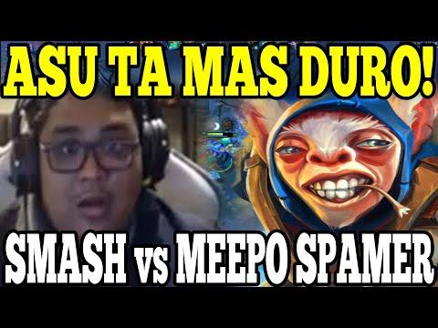 SMASH vs MEEPO BOOSTING - UN DOTA IMPOSIBLE PARA EL PROSOR!!
