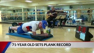 71-Year-Old Breaks World Record for Holding Longest Plank