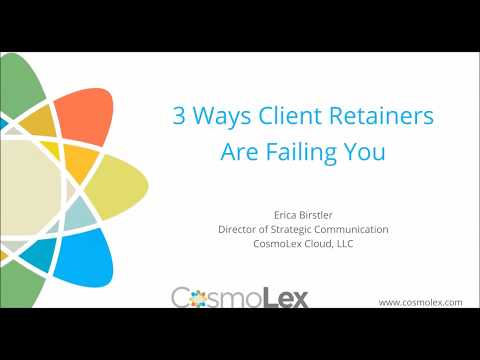Three Ways Client Retainers Are Failing You
