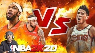NBA 2K20 DEVIN BOOKER VS BRANDON INGRAM!!