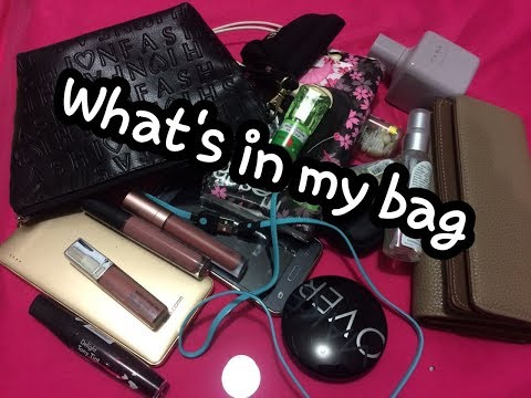 WHAT'S IN MY BAG (BAHASA) | Ayu Aminudin