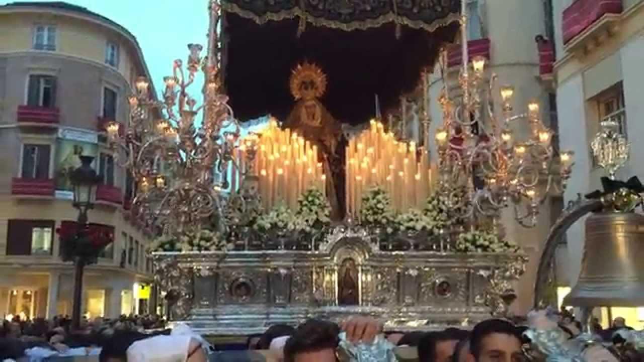 Virgen De La Paz Malaga 2015 Bm Nuestra Senora De La Paz Virgen Del Amor Doloroso
