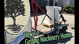 Getting Woodworking Machinery Home - Jordswoodshop