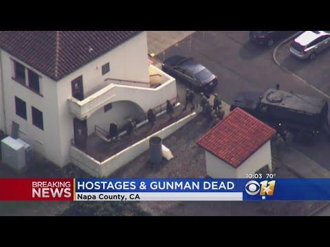 Gunman, 3 Hostages Dead At CA Veterans Home