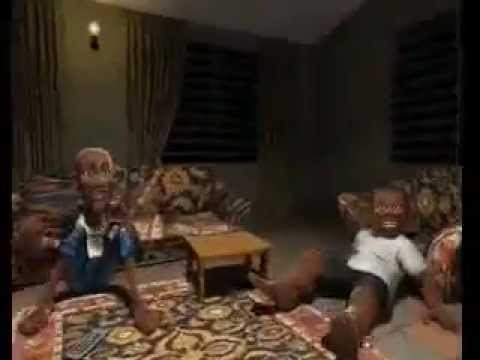 "Nigerian cartoon people dancing ""Omo See Signal"""