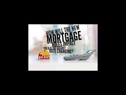 VREP Episode 28 | How Will the New Mortgage Rules Impact You & is the Vacancy Rate Changing?