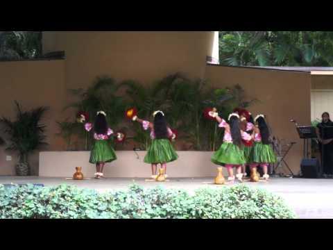 Kalākaua Festival Hula Competition 2012 - Hula Halau O