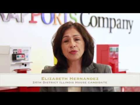 Elizabeth Hernandez, 24th District Illinois House candidate and incumbent