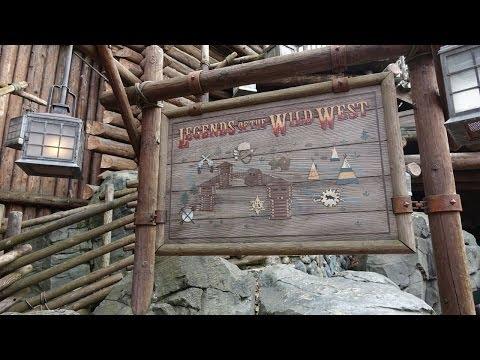 Disneyland Paris Legends of the Wild West