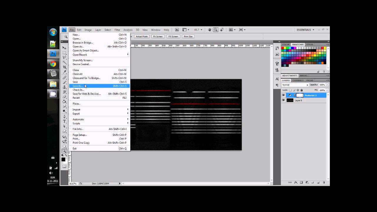 Photoshop :: How to reduce a PNG file size in photoshop with ...