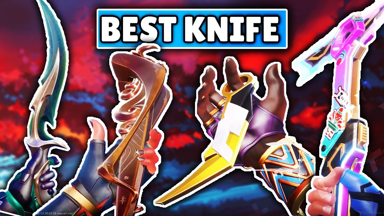 Download *UPDATED* VALORANT SKINS TIER LIST | TOP 10 KNIVES IN VALORANT!