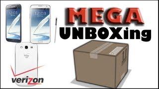 ★ FreshTech | Galaxy Note 2 Unboxing (Verizon) + Accessories ★