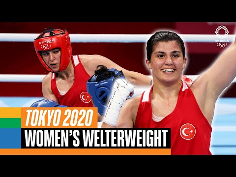 🇹🇷 🥊 Busenaz Surmeneli wins 1st ever Women's Welter Olympic Gold   Tokyo Replays