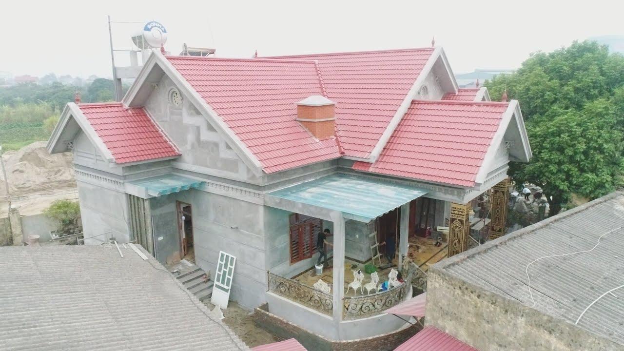 Mẫu Nhà Cấp 4 Đẹp MỸ MIỀU NỔI NHẤT xã Nhân Hòa, Mỹ Hào, Hưng Yên