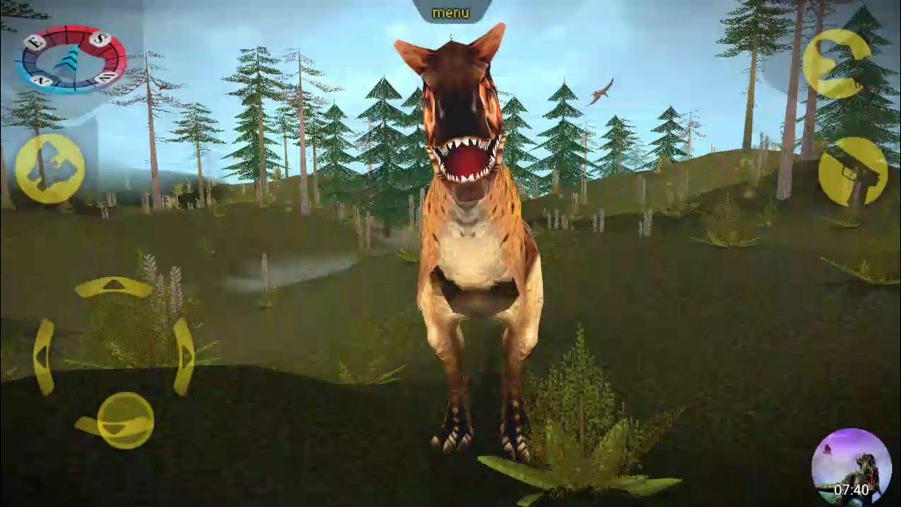 Carnivores Dinosaur Hunter   Carnotaurus Hunting with ...