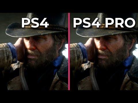 Red Dead Redemption 2 – PS4 vs. PS4 Pro Frame Rate Test & Graphics Comparison