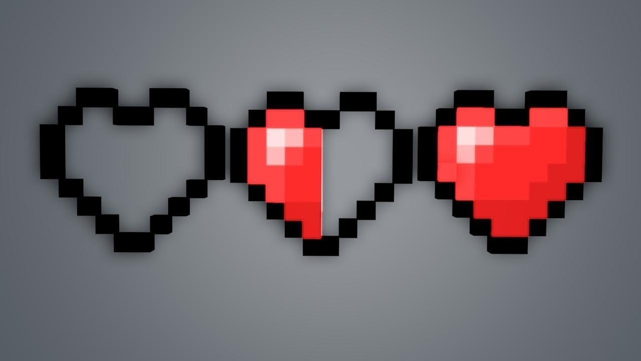 майнкрафт мод сердечки
