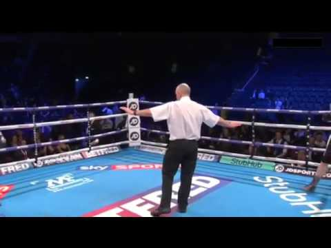 Explosive 20 second KO Lawrence Okolie vs Geoffrey Cave