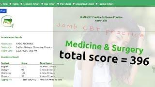 Medicine & Surgery Aspirant Scores 396 in the Jamb CBT Mock Exam - Jamb 2017