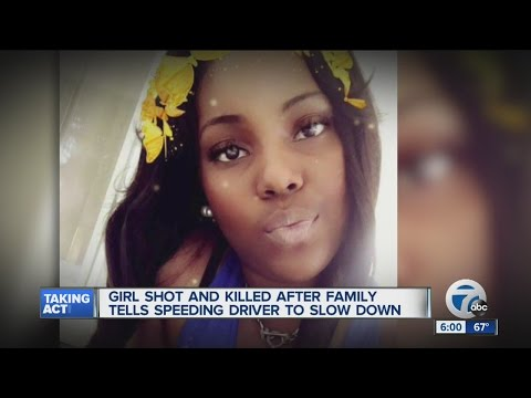 Girl shot and