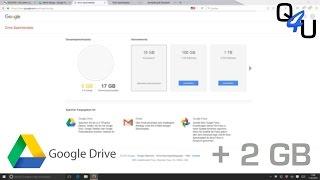 2 GB extra Speicher für dein Google Drive | QSO4YOU Tech