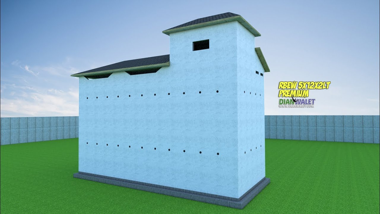 Desain Rumah Burung Walet 5x12 2 Lantai PREMIUM YouTube