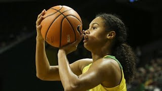 How Satou Sabally translates her uncanny basketball ability to big production for No. 8 Oregon
