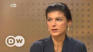 #DeutschlandWaehlt: Das Interview mit Sahra Wagenknecht, DIE LINKE  | DW Deutsch