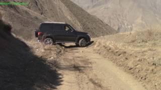 УАЗ 2107 Большой тест драйв фильм 1 часть 4  Ахтынская крепость, горы, серные бани, Дагестан!