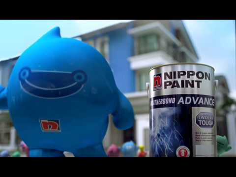 Nippon Paint Blobby 2010 - Weatherbond Advance