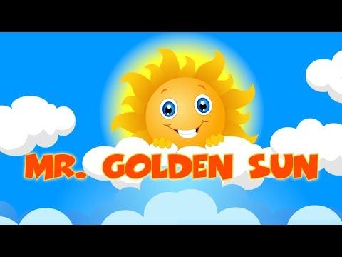 Mr Sun Sun Mister Golden Sun | mr sun song | Nuresery rhymes