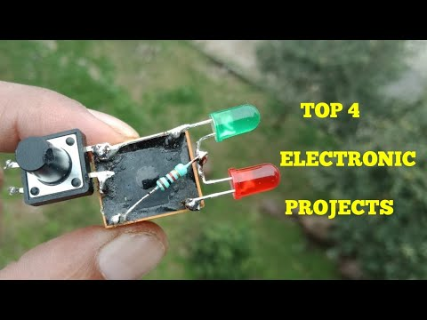 TOP 4 ELECTRONIC PROJECTS.