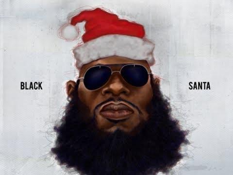 santa Sexy claus black