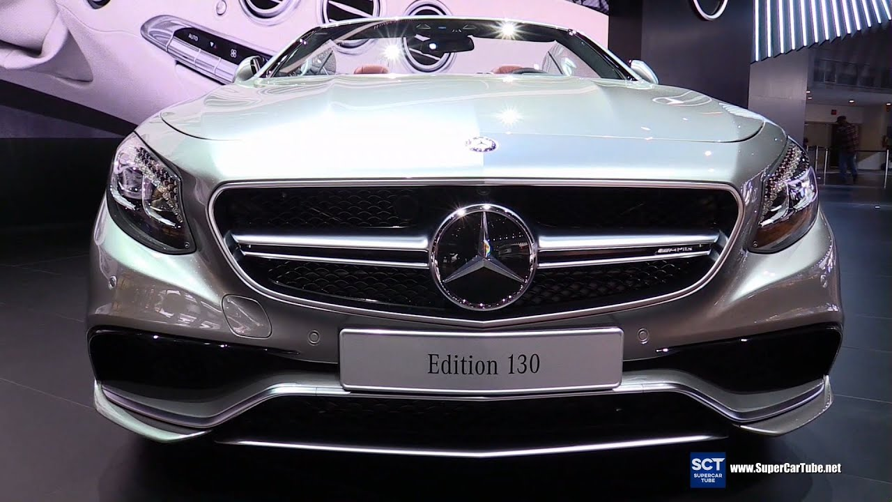 2016 Mercedes S63 AMG Edition 130 - Exterior and Interior Walkaround ...