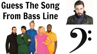 Guess The Song From Bass Line - Pentatonix Edition